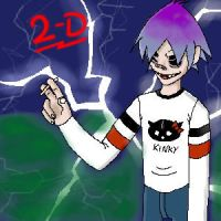 2-D by xcrystalclearx