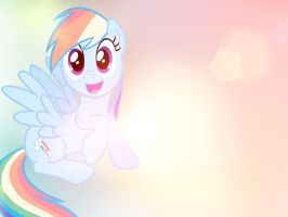 Wallpaper: Dashie by Bommster