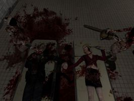 Silent Hill 2 Death Do Us Part by AmberAmy