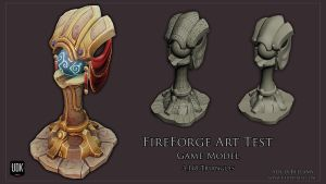 Fireforge Art Test Game Model by Vert-Vixen