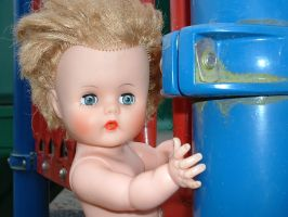 Dolly at the playground 11 by JensStockCollection