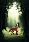 The Fox by zaameen