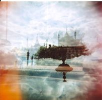 Holga dreamcastle by lucidez