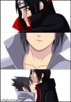 Itachi-san and Sasuke by typeATS