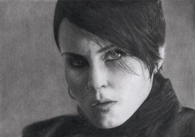 Lisbeth Salander by CoolGAlien