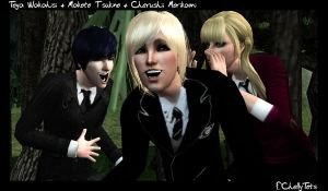-Sims 2- GroupShot by ChellyTots