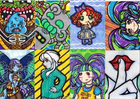 ACEO First 8 by x8SukiChan8x