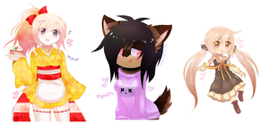 Request Batch - 1 by Blushily