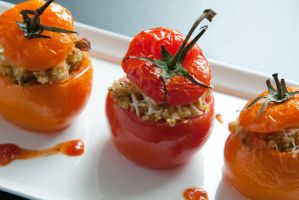 Untitled - Stuffed Tomatoes by Further-Seems-4ever