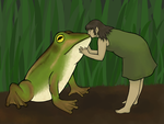 Frog Kiss by kassie