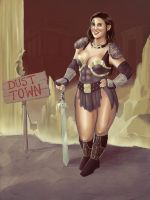 Dust Town Warden by clc1997
