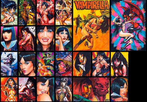 Vampirella 2nd series by choffman36