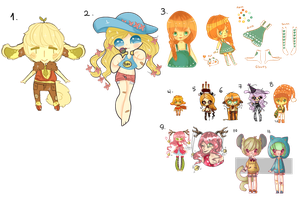 HUGE mixed adopts batch (OPEN) /cheap/ by SugarBooty