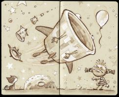 Food Balloon by BerniePetterson