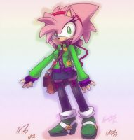 Sexy casual outfit +Amy Rose+ by nancher