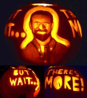 BILLY MAYS Pumpkin by YXZY
