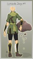 :: earthbender outfit design by pandatama