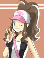 BW Girl trainer doodle by Na-Nami