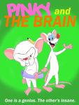 Pinky and the Brain by EarthVStheDerek
