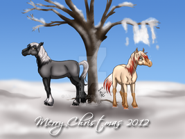 Snowy Christmas by Leadmare
