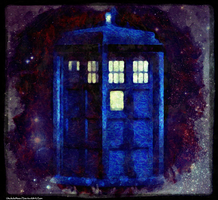 Fan Artwork: Tardis by UkuleleMoon
