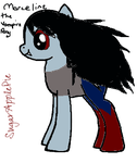 Marceline the vampire pony by sugarapplepie