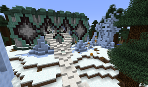 Cool Changes To The Entrance Structure by 8bloodpetals