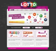 Lotto Website by decolite