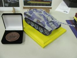 1:35 Jagdpanther [Rarity's Guard] - Bronze Medal by TigerFey