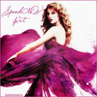 Speak Now Font by JustCrankItUpTisdale