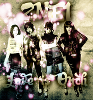 CD COVER.~ 2NE1_LOVE IS OUCH by Solita-San