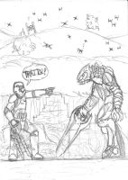TR-8R vs The Arbiter by DWestmoore