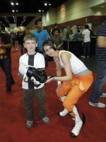 MegaCon 2012 Ben 10 and Chell by Timestitcher