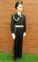 Soviet Navy Honour Guard, Full Parade Dress by MoscowNights92
