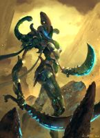 Alien Warrior by Vablo