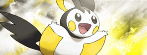 Emonga Emolga Signature by LegendaryDitto