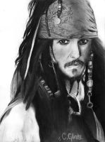 captain jack sparrow. by funkstoerung