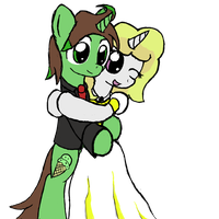 Mint Chip and Razzle Dazzle tie the knot by Brizner