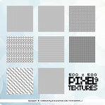 PIXEL textures set. by ohmyjongwoon