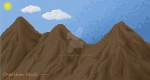 iScribble I - mar.11 -Mountain by Baphita