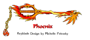 Phoenix Keyblade by ShiningamiMaxwell