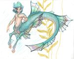 pretty little fish boy...thing by LilleahWest