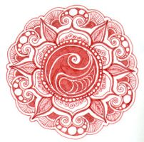 Circle of Life and Sea mandala by yael360