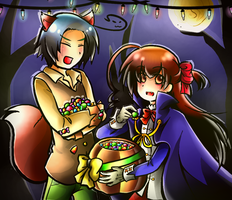 Happy Halloween by LunaticMao