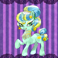 My Crystal ponysona by BuNInA