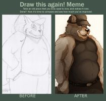 Draw this again! by VetroW