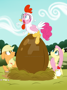 Happy Easter!! by Azure-Art-Wave