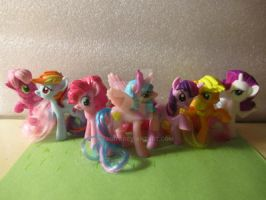 My Little Pony McDonalds Toys 2011 by Xyaddy