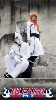 Orihime and Ulquiorra cosplay - Bleach by SailorMappy