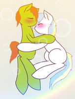 Snuggles With you. by kim-306